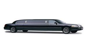 Black Stretch Lincoln Limousine